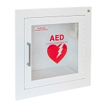 White AED Cabinets